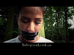 Bondage humiliation routine for bad behaving sl...