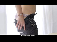 rubateen - rubbing and drilling avery s tight pussy