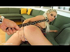 Ildiko teen gets it hard gonzo style on Tamed T...