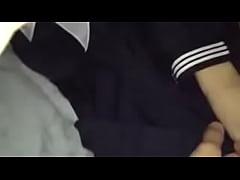 Japanese school girl secret filming