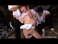 Asian cuttie suddenly getting stimulated by two...