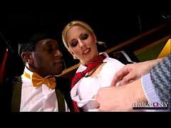 HARMONY VISION Young Harlot punished with Inter...