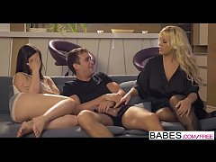 Babes - Step Mom Lessons - Movie Night starring...