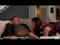 Hot Francesca Le and Ann Marie Rios fuck in thr...
