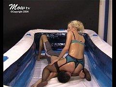 Mixed Oil Wrestling - 003 - Fatal Facesitting -...