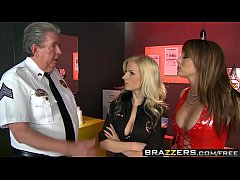 Brazzers - Hot And Mean -  Prostitute Trains Se...