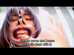 subtitled weird japanese face destruction shaved schoolgirl
