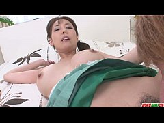 Akari Asagiri Earns A Creampie From A Deep Fucking