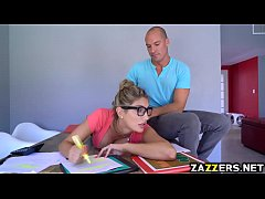 Sean Lawless banging August Ames on top of his ...