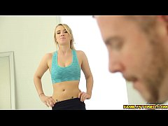step bro works out turn to a hot blowjob by bailey brooke