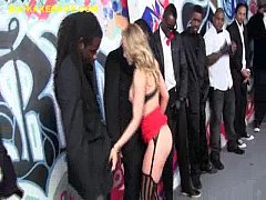 Blonde Services Many Blacks