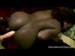 ebony amateur slut bends over to beg for it doggystyle