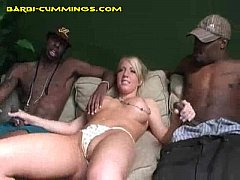 masturbation and blowjob for blonde barbi
