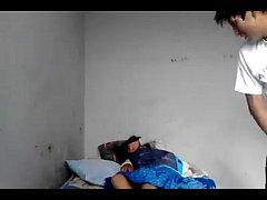 Cachando ami FLACA en Huancavelica en hotel de ...