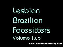 Lesbian Brazilian Facesitters Vol 2