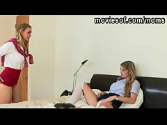 teen student staci share a cock with her milf teacher tanya