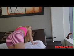 Tight teen Khloe Kapri stepsis accept bro dick apology