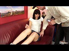 FakeShooting Petite beauty get cum on her great...