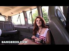 Back seat hustle with Miranda Mills on The Bang Bus! (bb13879)