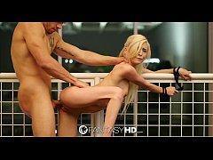 FantasyHD - Submissive teen Piper Perri tries f...