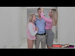 Stepmom Brandi Love hot threesome action with Z...