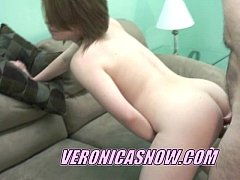 Perky Veronica taking a cock deep in her pussy