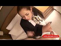 Asian Office  Lady Blowjob