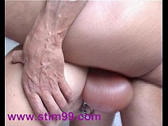 Pumping Pierced Pussy and Saline Balls inflatio...