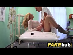 Fake Hospital Dirty doctor gives blonde Czech b...