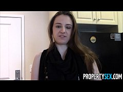 PropertySex - Young real estate agent with big ...
