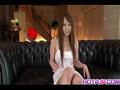 Ichika pretty Asian babe gets fondled and has m...