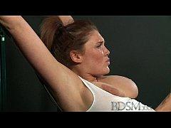 BDSM XXX Slave girls with massive tits get hard...