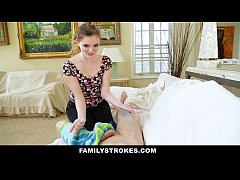 FamilyStrokes- Step-Sis Obsessed With Older Bro...