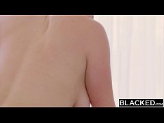 BLACKED Curvy thick blonde girl loves bbc