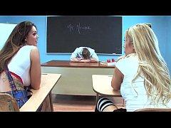 capri cavanni schoolgirl threesome
