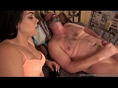 Cum Eating Cuckolds - Kimber Woods fucks in fro...