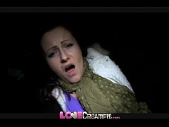 Love Creampie Her pussy drips with cum after se...
