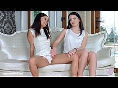 First time by Sapphic Erotica - Kittina Cox and...