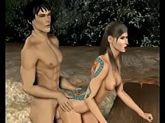 3D Animation: Ninja Scroll 2