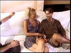 hubby watches 2 blacks dp his hot wife