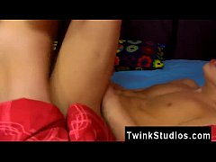 Gay twinks Kyler Moss is all horned up after th...