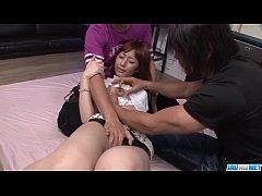 Adorable school porn video with naughty Tiara A...