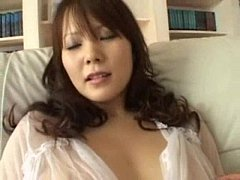 Japanese girl with huge tits fucked
