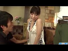 Sweet Nao Mizuki in rough Asian threesome porn ...