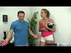 Teen Sophia wants her stepbrother to make her p...