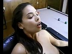 Tera Patrick pounded hard on a chair