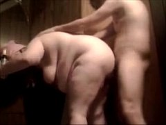 Fat Bitch Mom Gets Her Ass Fucked Raw And Cream...