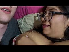 Breastfeeding husband and Milk play