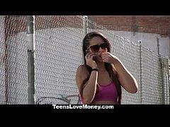 TeensLoveMoney - Curvy Latina Fucked For Free R...