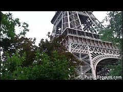 eiffel tower public sex threesome orgy